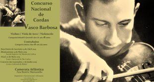 I Concurso Nacional de Cordas 'Vasco Barbosa'