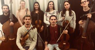 """Ensamble de violas de arco da ESML . Ciclo de Concertos """"Cordas Jovens"""""""