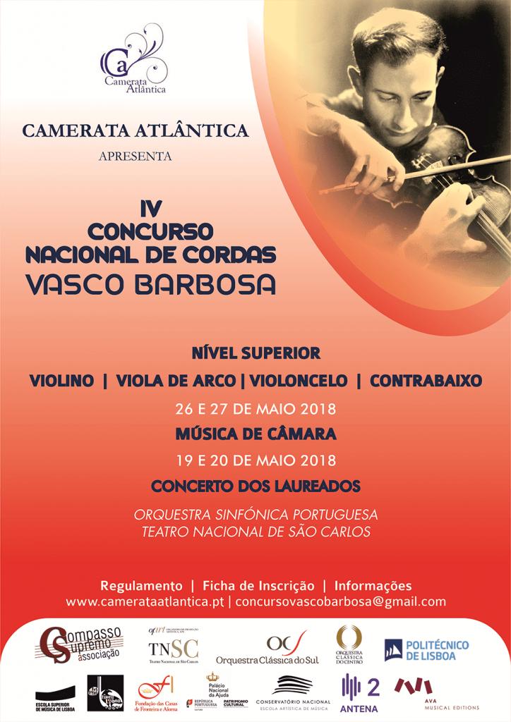 IV CONCURSO NACIONAL DE CORDAS 'VASCO BARBOSA'