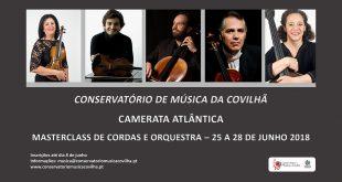 Masterclass de cordas e orquestra
