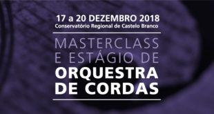 Masterclass e Estágio de Orquestra de Cordas com Camerata Atlântica