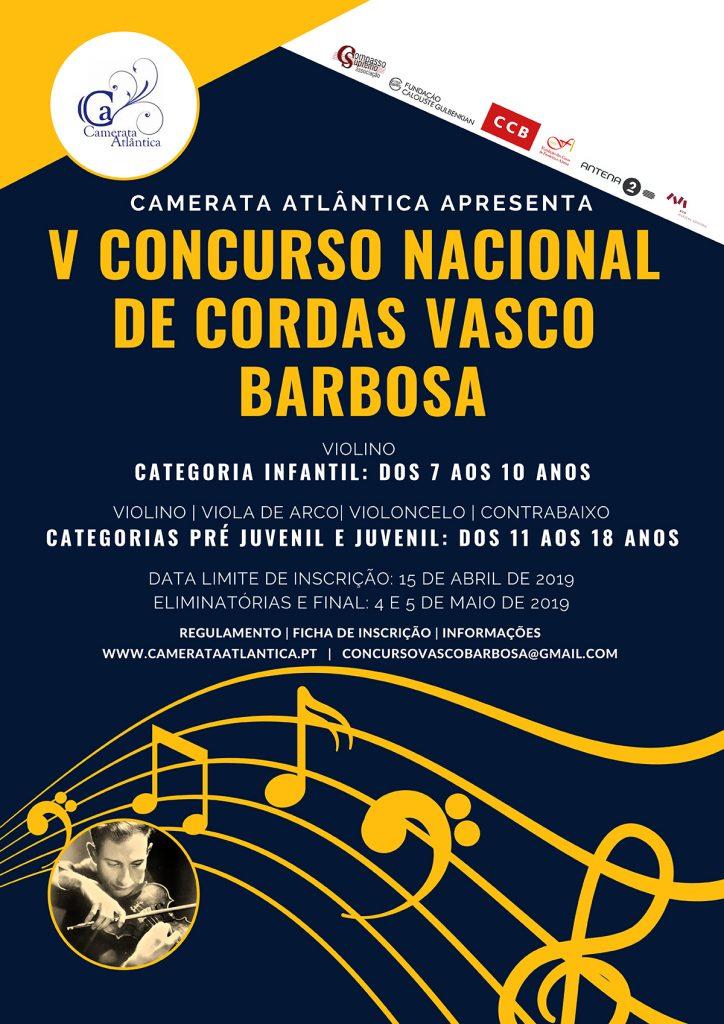 V CONCURSO NACIONAL DE CORDAS VASCO BARBOSA